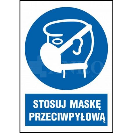 Stosuj maskę przeciwpyłową 220x300
