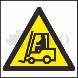 Ostrzeżenie przed urządzeniami do transportu poziomego 200x200