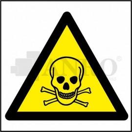 Ostrzeżenie przez niebezp. zatrucia substancjami toks. 200x200