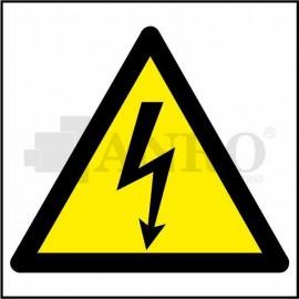 Ostrzeżenie przed porażeniem prądem elektrycznym 200x200