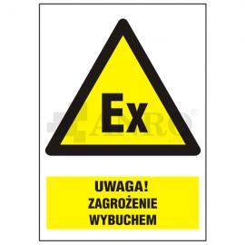 Uwaga! Zagrożenie wybuchem 220x300