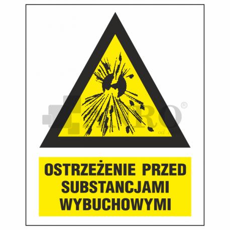 Ostrzeżenie przed substancjami wybuchowymi 220x300