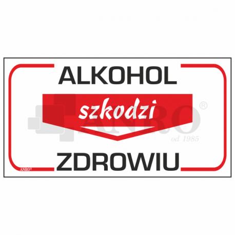 Alkohol szkodzi zdrowiu 110x250