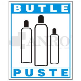 Butle puste 150x205