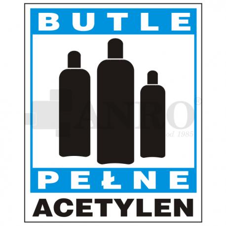 Butle pełne acetylen 150x205
