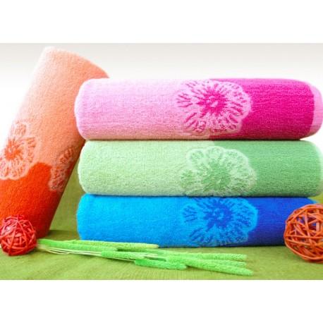 Ręcznik Paloma 70x140 pomarańczowy