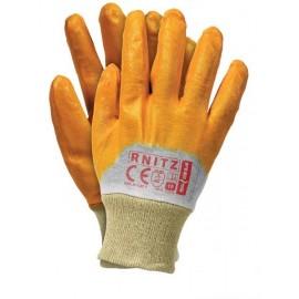 Rękawice ochronne nitrylowe RNITZ