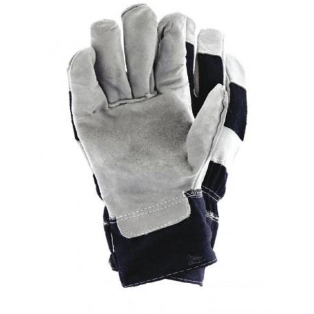Rękawice skórzane całodłonicowe