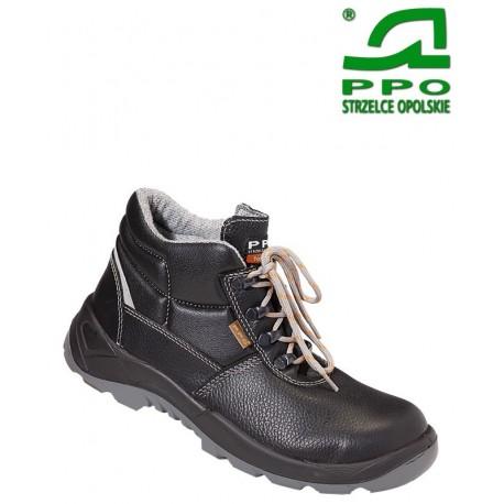 Trzewiki bezpieczne z metalowym podnoskiem i wkładką antyprzebiciową wz. 363