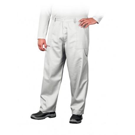 Spodnie ochronne do pasa Master białe