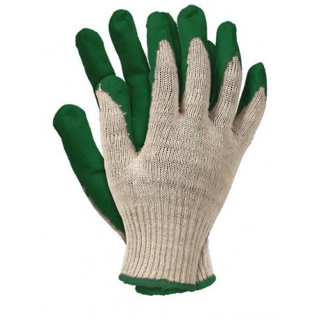Rękawice ochronne wampirki RU zielone