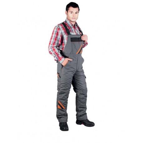 Spodnie ochronne ocieplane ogrodniczki PRO-WIN-B