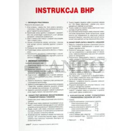 Instrukcja BHP dla placówek handlu art. spożywczymi