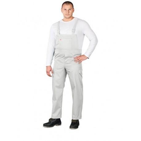 Spodnie ochronne ogrodniczki Master białe