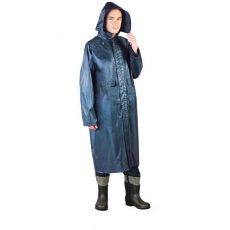 Płaszcz ochronny przeciwdeszczowy PPDPU granatowy