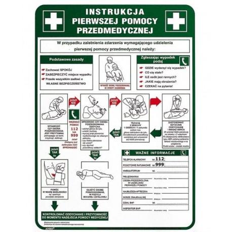 Instrukcja pierwszej pomocy przedmedycznej 250x350