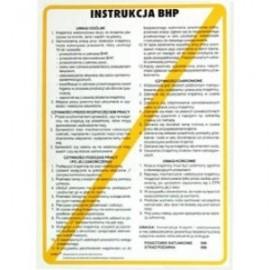 Instrukcja BHP przy obsłudze szlifierki dwutarczowej