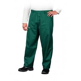Spodnie ochronne do pasa Master zielone