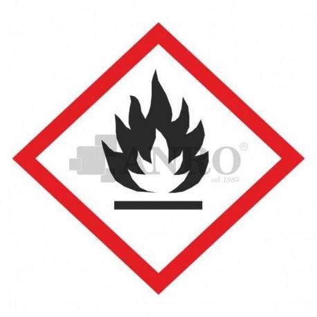 Łatwopalne, samoreaktywne, piroforyczne,nadtlenki organiczne, samonagrzewające się, uwalniające gazy w kontakcie z wodą 100x100