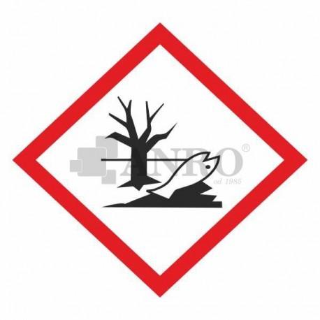 Ostre zagrożenie dla środowiska wodnego kat. 1, przewlekłe zagrożenie dla środowiska wodnego kat. 1,2 100x100
