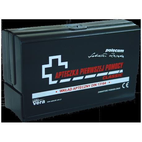Apteczka pierwszej pomocy CLASSIC PLUS w pudełku z tworzywa