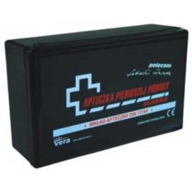 Apteczka pierwszej pomocy CLASSIC DIN w pudełku z tworzywa