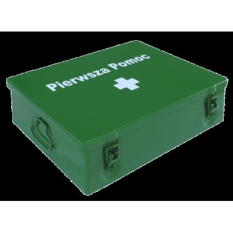 Przemysłowa apteczka pierwszej pomocy VERA3 2x 13157 PLUS w szafce metalowej