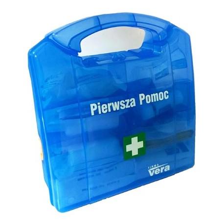 Przemysłowa apteczka pierwszej pomocy W-3 13157 PLUS w plastikowej walizce