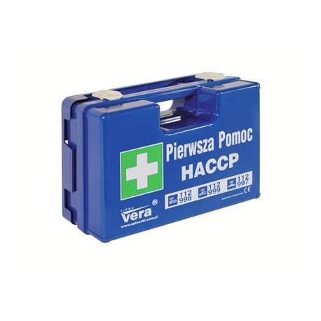 Apteczka pierwszej pomocy HACCP w walizce z tworzywa ABS