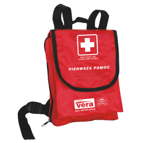 Apteczka pierwszej pomocy SZKOLNA 1 13164 PLUS w plecaku