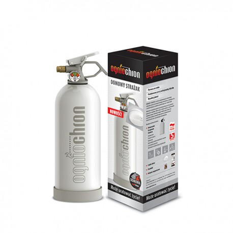 Gaśnica domowa - zestaw gaśniczy Domowy Strażak biały