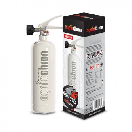 Gaśnica domowa 2 KG - zestaw gaśniczy Domowy Strażak biały