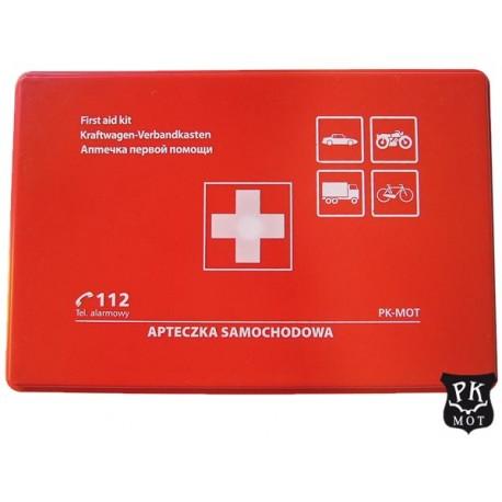 Apteczka pierwszej pomocy w MINI rozmiarze w pudełku z tworzywa