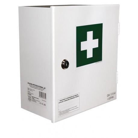 Przemysłowa apteczka pierwszej pomocy AS20 13164 w szafce metalowej