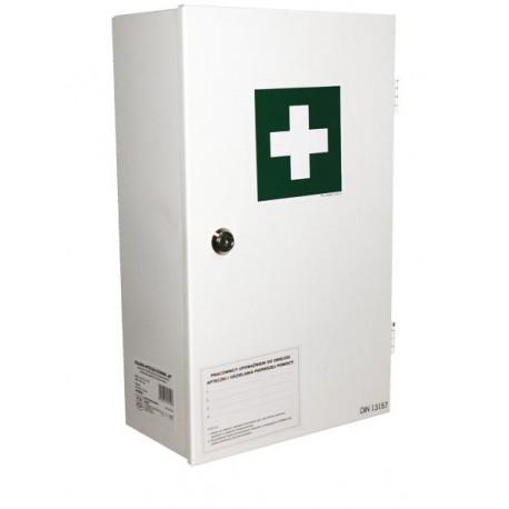 Przemysłowa apteczka pierwszej pomocy AS40 13157 w szafce metalowej