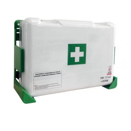 Przemysłowa apteczka pierwszej pomocy AZ 13164 w walizce z tworzywa