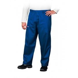 Spodnie ochronne do pasa Master niebieskie