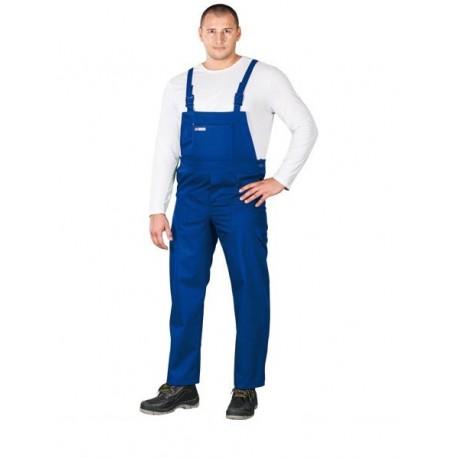 Spodnie ochronne ogrodniczki Master niebieskie