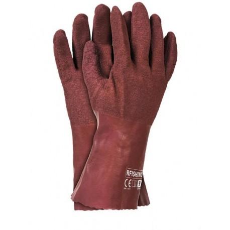 Rękawice ochronne gumowe wykonane z latexu RFISHING