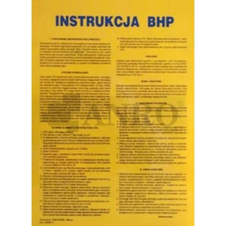 Instrukcja BHP malarza warsztatowego