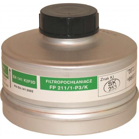 Filtropochłaniacz FP 211/1-P3 K