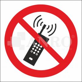 Zakaz używania telefonów komórkowych 100x100