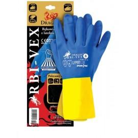 Rękawice ochrone latexowo-kauczukowe RBI-VEX