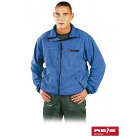 Bluza ochronna z polaru HONEY niebieska