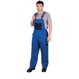 Spodnie ochronne ogrodniczki Multi Master niebieskie
