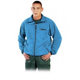 Bluza ochronna z polaru HONEY jasnoniebieska
