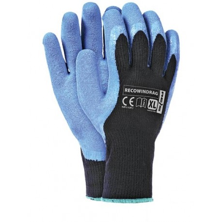 Rękawice ochronne ocieplane RECOWINDRAG BN XL