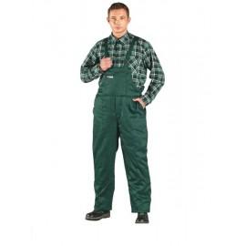 Spodnie ochronne ocieplane ogrodniczki Master zielone