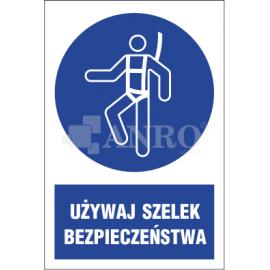 Używaj szelek bezpieczeństwa 220x300