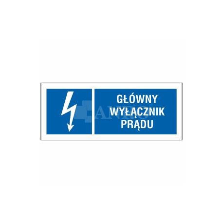 Wyłącznik główny prądu 74x210